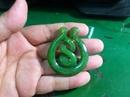 Tp. Hồ Chí Minh: Mặt dây chuyền ngọc bích Nephrite kiểu hạnh phúc CL1165257