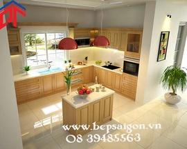 Các mẫu phòng bếp, tủ bếp đẹp do Tủ Bếp Xinh thiết kế và sản xuất