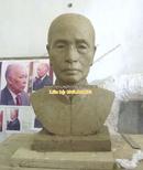 Tp. Hà Nội: Tạc tượng đồng chân dung, tượng bán thân, đúc tượng Tạc tượng đồng chân dung, t CL1322446