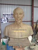 Tp. Hà Nội: Tượng Bác Hồ, bằng đồng, Tượng chân dung, bán thân Bác Hồ, Tượng trang trí hội trư CL1322446