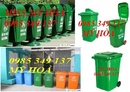 Long An: KM thùng rác công cộng, thùng đựng rác 120 lít, 240 lít (0985 349 137) CL1208431
