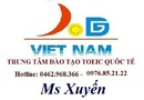 Tp. Hà Nội: Khai giảng lớp Toeic cấp tốc ngày 20,27 tháng 05 CL1211024