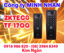 Bình Dương: Máy chấm công ZKTECO TF-1700 giá tốt nhất tại Bình Dương. Lh:0916986820 Ngân CL1209269