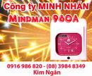 Bạc Liêu: Máy chấm công Mindman M960A lắp đặt tại Bạc Liêu, giá rẻ. Lh:0916986820 Ms. Ngân CL1209269