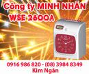An Giang: Máy chấm công WSE-2600A giá siêu rẻ, hàng mới. Lh:0916986820-08. 39848349 Ms. Ngân CL1209269