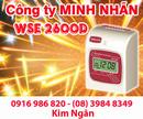 Đăk Nông: Máy chấm công WSE 2600D giá thấp nhất tại Đăk Nông. Lh:0916986820-08. 39848349 CL1209269