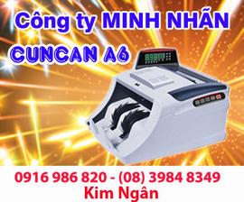 Máy đếm tiền CUNCAN A6 giao hàng và bảo hành tại Tiền Giang. Lh:0916986820 Ngân