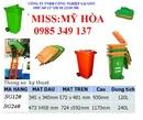 Tp. Hồ Chí Minh: Mỹ Hòa 0985 349 137 bán thùng rác công cộng, xe đẩy rác 660 lít, 1100 lít CL1151307P11