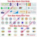 Tp. Hà Nội: Chuyên in tem mác, tem vỡ, tem bảo hành, tem decal. giá rẻ + đẹp / 0908 562968 CL1211287