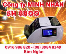 Máy đếm tiền SH-8800 giá rẻ, giao hàng và bảo hành tại Quảng Bình. Lh:0916986820