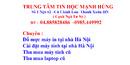Tp. Hà Nội: Sửa máy in tại nhà-đổ mực máy in tại nhà hà nội CL1234521