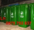 Tp. Cần Thơ: Siêu rẻ .. .THÙNG RÁC CÔNG CỘNG 120L, 240L, 660L, thùng rác văn phòng đủ loại CL1155190
