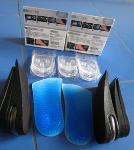 Miếng Lót giày tăng chiều cao Hàn Quốc, cao thêm từ 3-9cm, rất rẻ