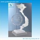 Tp. Hồ Chí Minh: Sản xuất kỷ niệm chương pha lê, cúp pha lê, thủy tinh CL1215434