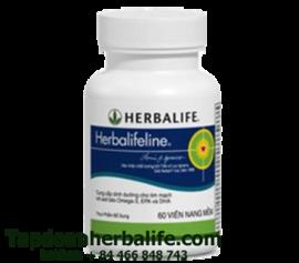 Herbalifeline - Hổn hợp dầu cá hỗ trợ tim mạch Omega 3 6 9