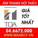 Tp. Hà Nội: Phân phối thiết bị hội thảo hãng TOA số 1 Việt Nam CL1218816
