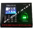 Bắc Giang: Máy chấm công VIRA F678, Máy chấm công giá rẻ, máy chấm công tốt nhất CL1217966