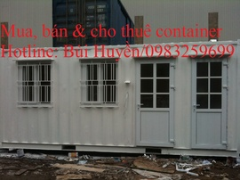 Bán container văn phòng giá rẻ tại Hà Nội, Miền Bắc