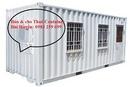 Tp. Hà Nội: Bán thanh lý container văn phòng cũ tại Hà Nội CL1217927