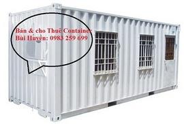 Bán thanh lý container văn phòng cũ tại Hà Nội