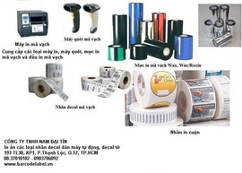 Printing labels roll, barcode labels, barcode ink