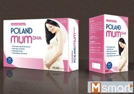 Vien bo thai Poland Mum DHA giai phap tot cho phu nu mang thai