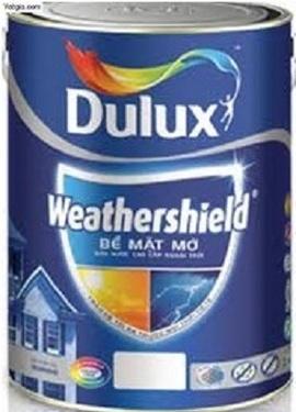 tổng đại lý bán sơn dulux weathershield giá rẻ nhất tphcm sơn chịu nhiệt rẻ