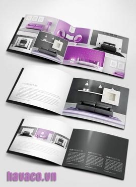 Báo giá in catalogue, báo giá in brochure tại HN