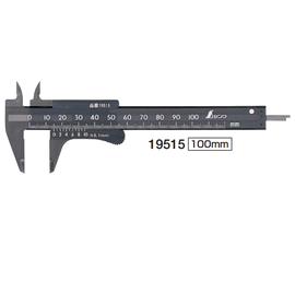 Thước cặp cơ Shinwa 19515 , 100 mm