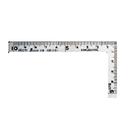 Tp. Hà Nội: Thước eke vuông cỡ nhỏ Shinwa 12101, 10x5 cm CL1218578
