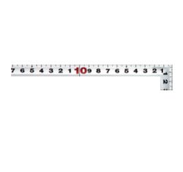 Thước eke vuông shinwa 10014, 50x25 cm