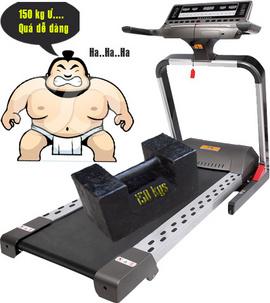 Máy chạy bộ Sumo/ sumo treadmil sản xuất theo công nghệ Mỹ
