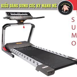 Máy chạy bộ điện thông minh Sumo/ Sản phẩm tốt cho gia đình việt