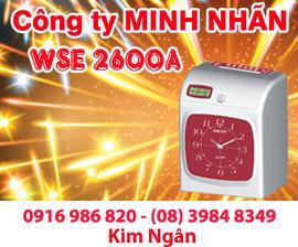 Máy thẻ giấy WSE 2600A/ 2600D phân phối và lắp đặt tại Cần Thơ. Lh:0916986820 Ngân