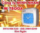 Tp. Hồ Chí Minh: Máy thẻ giấy WSE 7500A/ D phân phối và lắp đặt tại Tp. HCM. Lh:0916986820 Ms. Ngân CL1218765