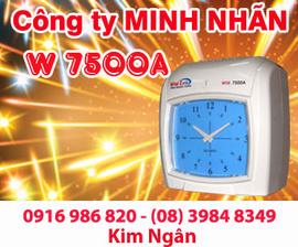 Máy thẻ giấy WSE 7500A/ D phân phối và lắp đặt tại Tp. HCM. Lh:0916986820 Ms. Ngân