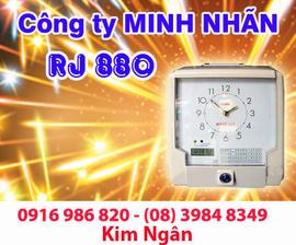 Máy thẻ giấy RJ-880 giá rẻ+phân phối tại Vũng Tàu. Lh:0916986820-08. 39848349 Ngân