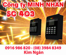Tây Ninh: Máy chấm công RJ SC-403 giá tốt+lắp đặt tại Tây Ninh. Lh:0916986820 Ms. Ngân CL1218803