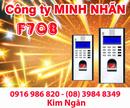 Bình Thuận: Máy chấm công RJ F708 giá rẻ+lắp đặt tại Bình Thuận. Lh:0916986820-08. 39848349 CL1218787