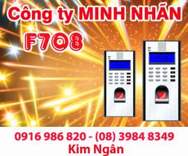 Máy chấm công RJ F708 giá rẻ+lắp đặt tại Bình Thuận. Lh:0916986820-08. 39848349