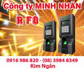 Máy chấm công RJ F8 lắp đặt và bảo hành tại TP. HCM. Lh:0916986820 Ms. Ngân