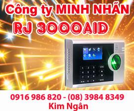Máy chấm công RJ 3000AID giá rẻ, lắp đặt tại Gia Lai. Lh:0916986820 Ms. Ngân