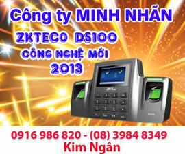 Máy chấm công vân tay ZKTECO-DS100 giá rẻ+lắp đặt tại Đồng Nai. Lh:0916986820