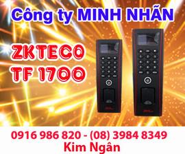 Máy chấm công ZKTECO TF-1700 giá tốt, lắp đặt tại Khánh Hòa. Lh:0916986820 Ngân