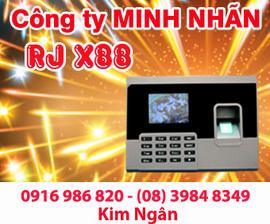 Máy chấm công RJ X-88 lắp đặt+khuyến mãi hấp dẫn tại Ninh Thuận. Lh:0916986820