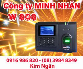 Máy chấm công WSE 808 giá rẻ+lắp đặt tại Bình Thuận-Ninh Thuận. Lh:0916986820