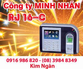 Máy chấm công RJ T6-C giá rẻ+lắp đặt tại Tiền Giang. Lh:0916986820 Ms. Ngân