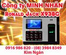 Lâm Đồng: Máy chấm công RJ X938-C giá rẻ+lắp đặt tại Lâm Đồng. Lh:0916986820 Ms. Ngân CL1218814