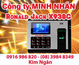 Máy chấm công RJ X938-C giá rẻ+lắp đặt tại Lâm Đồng. Lh:0916986820 Ms. Ngân