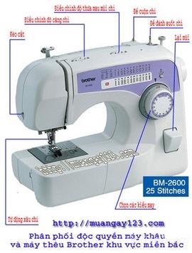 Mua máy may mini Brother BM 2600 giảm giá hấp dẫn đây!!!